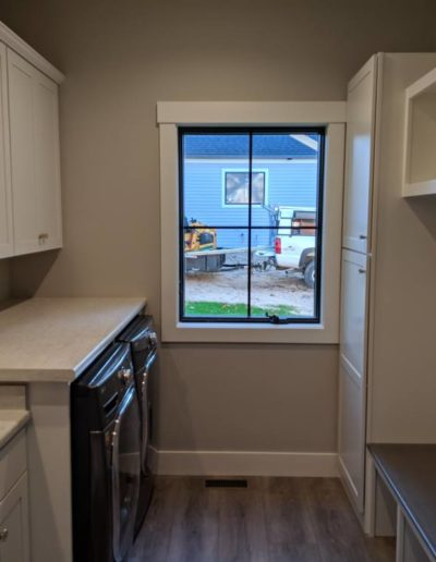 Town and Country Builders - Leatherman Supply Cabinets and Windows