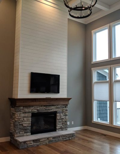 Town and Country fireplace design